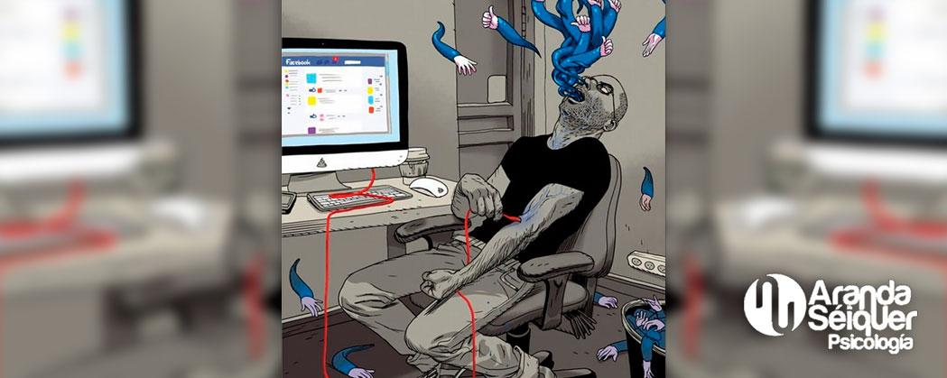 ¿Es la adicción a las redes sociales un marcador de problemas subyacenyes?